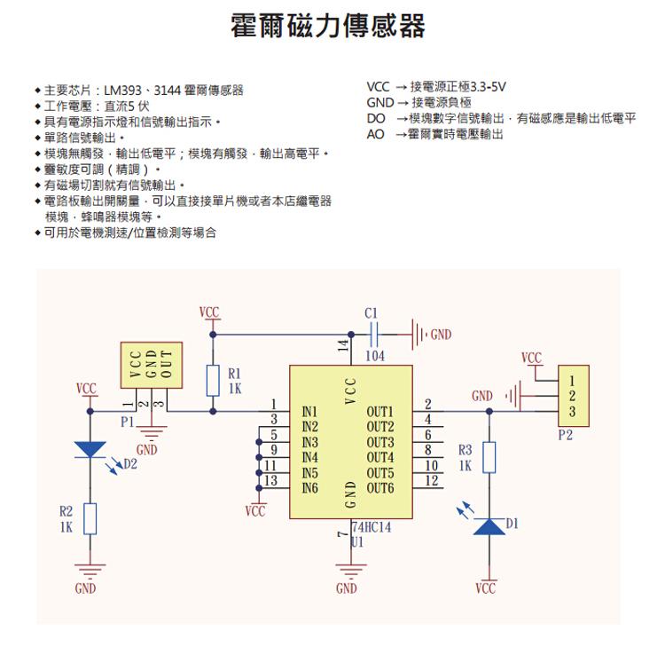 单路信号输出 模块无触发,输出低电平;模块有触发,输出高电平.